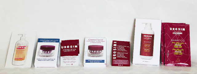 muestras cosmeticos Uresim