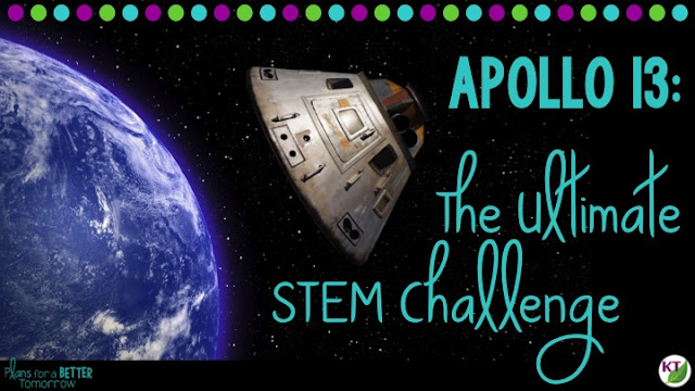 """The Apollo 13 mission showed how seemingly insurmountable obstacles can be overcome with scientific reasoning and problem solving. Specifically, the carbon dioxide filter fix shows why STEM Challenges are so much more than just """"fun."""""""