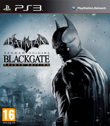 Batman Arkham Origins Blackgate PS3 ISO