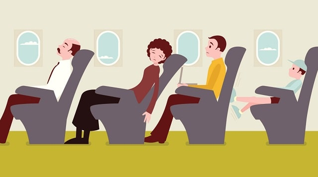 safety flying varicose veins air travel deep vein thrombosis dvt blood clot legs