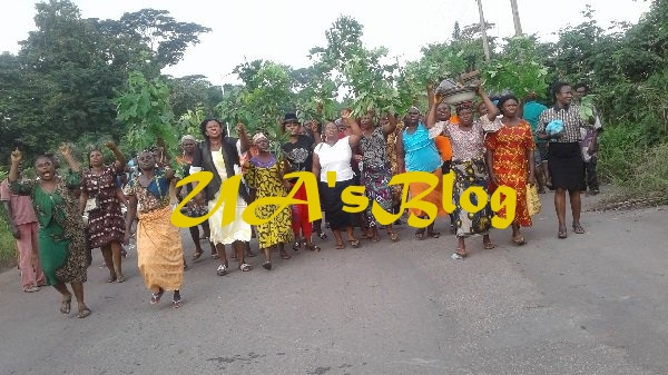 Protest rocks Anambra community over land dispute