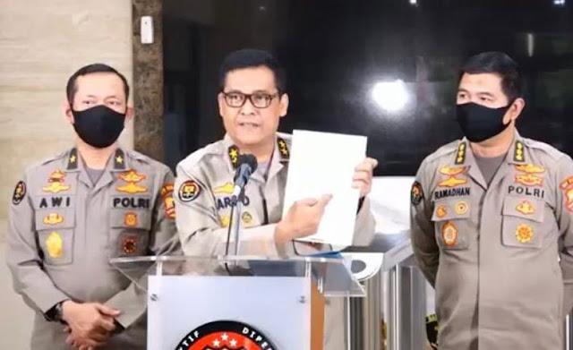 Tim Bareskrim dan Polda Akan Menangani Dugaan Pelanggaran Prokes Habib  Rizieq