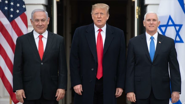 Informe: Trump cederá partes de la Cisjordania palestina a Israel