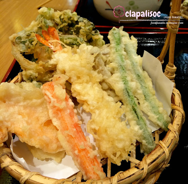 All Star Tempura Set, Tempura Basket
