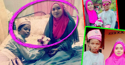 ASTAGFIRULLAH !! Kenyataan Pahit di Balik Foto Pernikahan 'Kedua Bocah' Ini Bikin Nangis