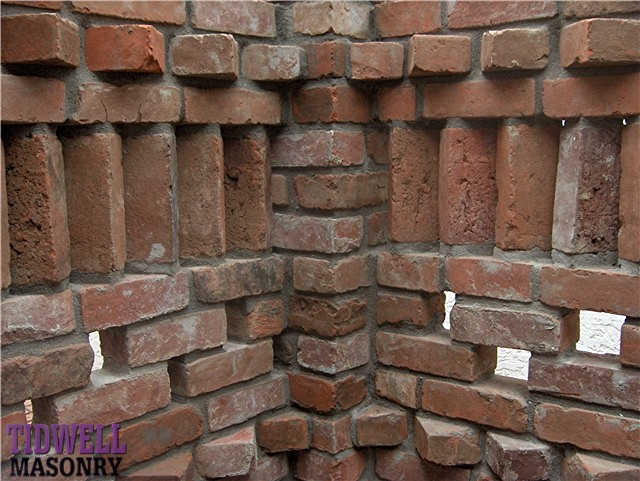 Different types of bonds used in brick masonry for Brick types and styles