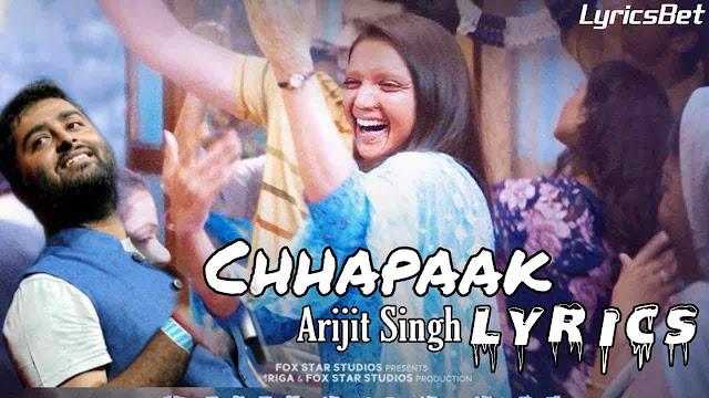 Chhapaak Lyrics
