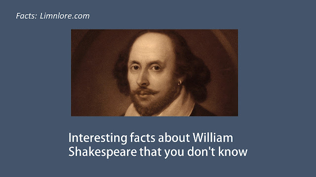 Interesting facts about william shakespeare that you don't know