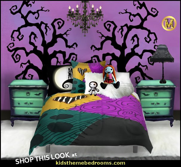 Sally Nightmare Before Christmas Comforters Sally Nightmare Before Christmas bedroom ideas maries manor bedrooms   Nightmare Before Christmas theme bedroom decorating ideas Halloween - Tim Burton - Sally Nightmare Before Christmas