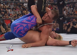 WWE / WWF King of the Ring 2000 - Kurt Angle pins Chris Jericho in their quarter-final match