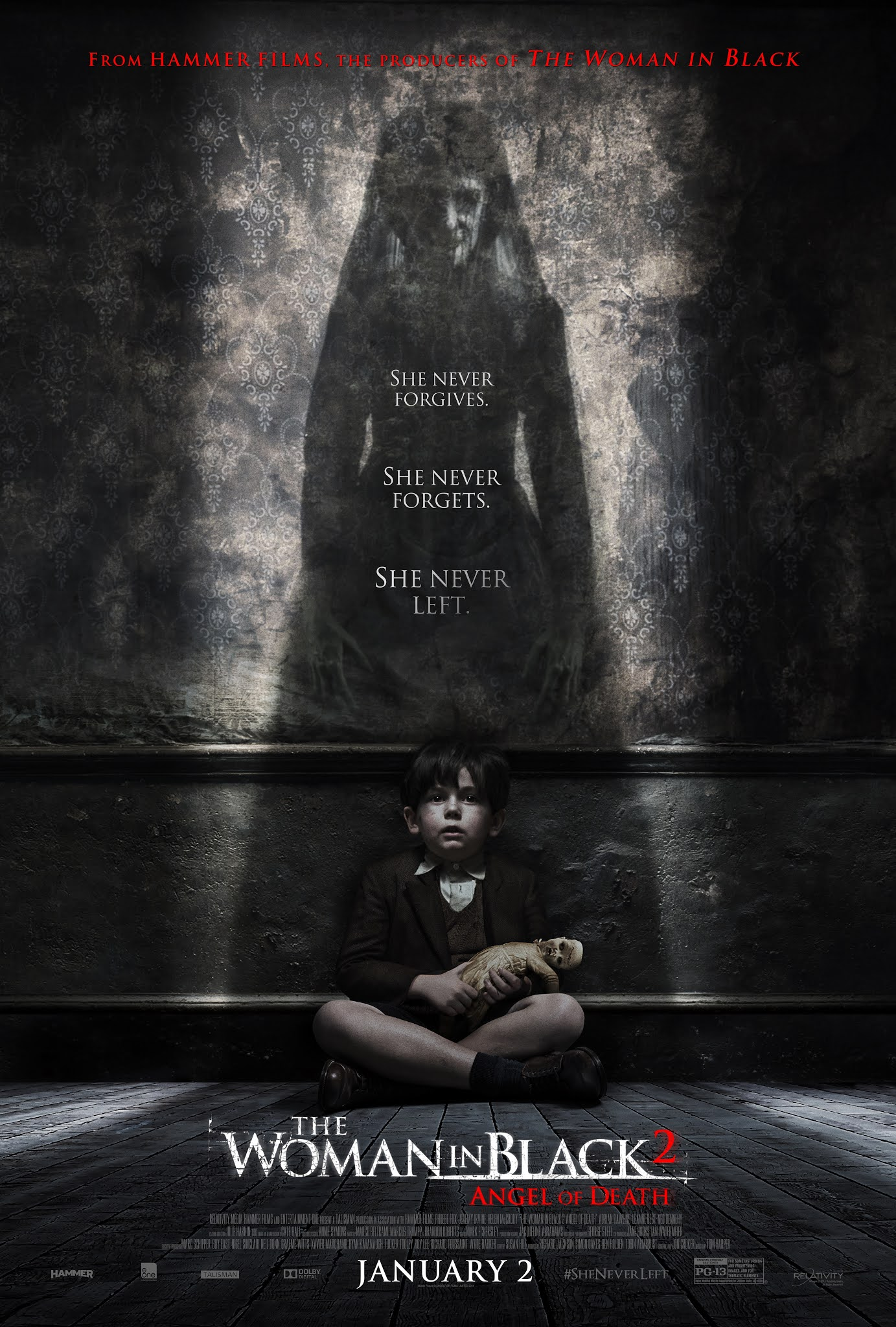 The Woman in Black 2: Angel of Death 2014