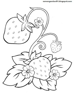 atau yan sering di sebut stroberry merupakan salah satu tanaman buah 15+ Sketsa Gambar Strawberry