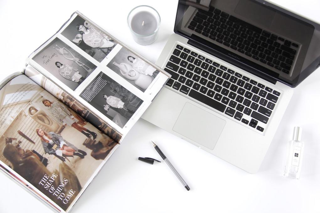 lifestyle blogger blogging