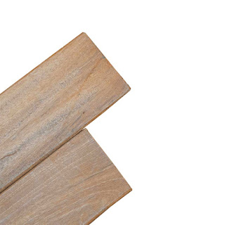 decking kayu bengkirai polos
