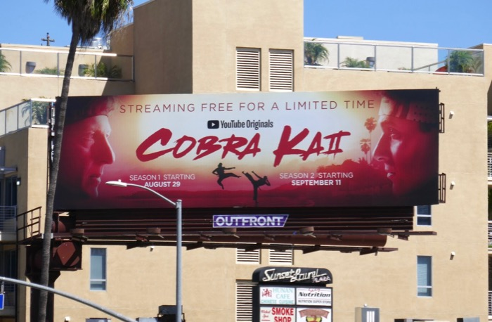 Cobra Kai Stream for free billboard