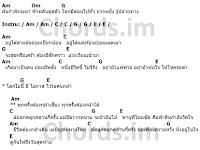คอร์ดเพลง ท้าพายุ - Labanoon (ลาบานูน)