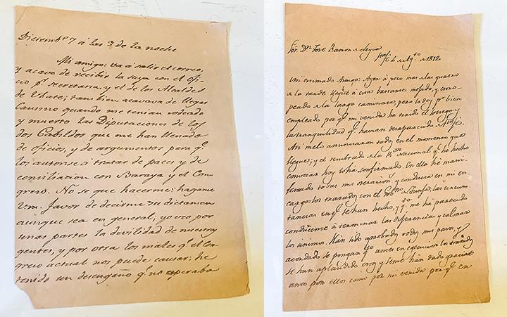 handwritten script letters