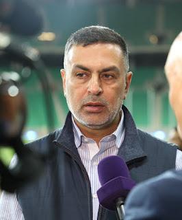 العيداني يؤكد ان البصرة نموذج ناجح لاستضافة العراق للبطولات