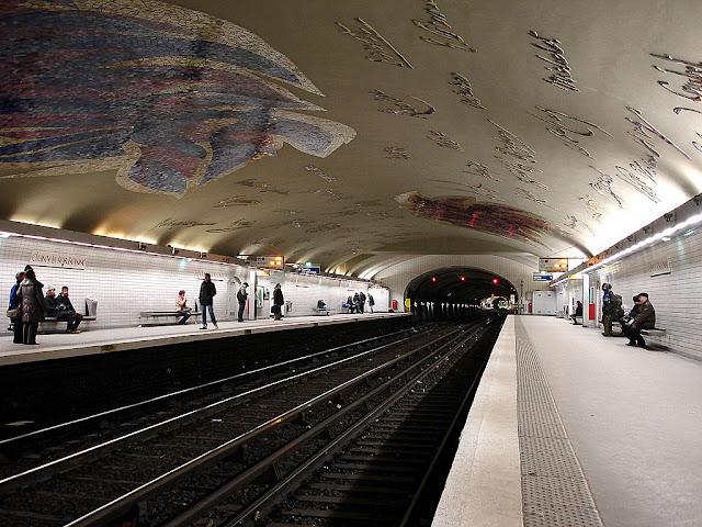 As estações de metrô mais bonitas e diferentes de Paris - Cluny - La Sorbonne