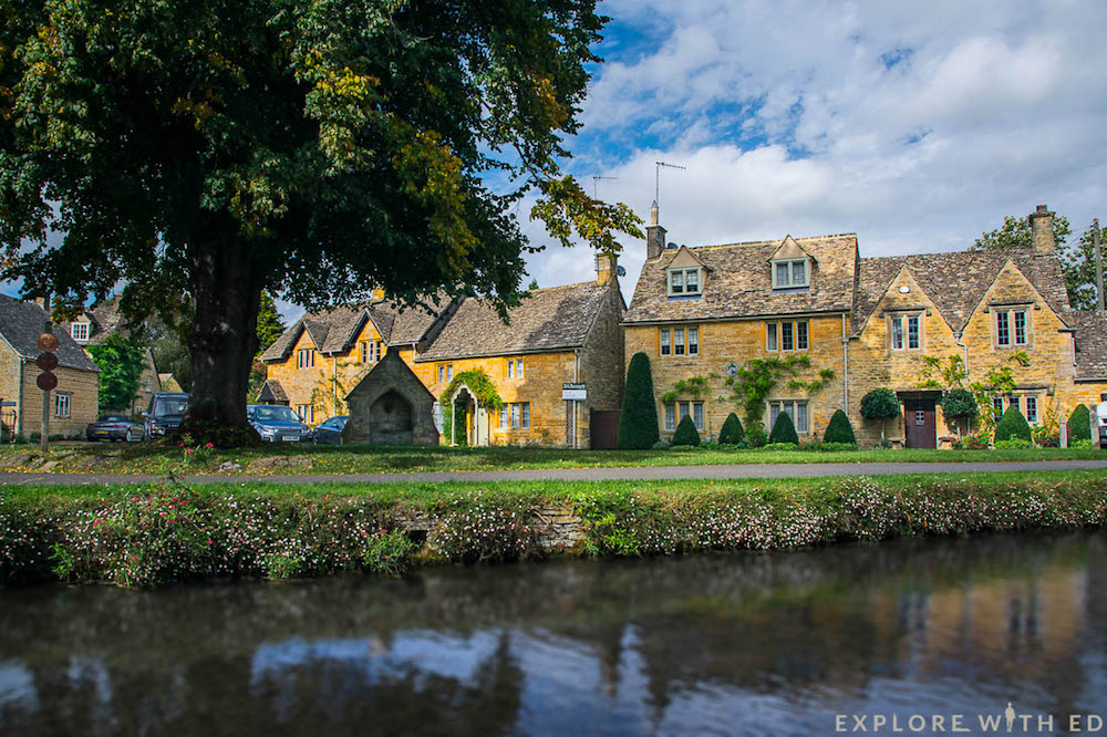 Lower Slaughter in The Cotswolds