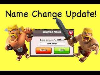 how to change clash of clan id name in bangla