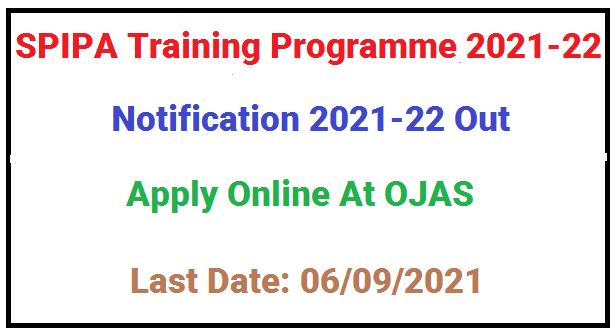 SPIPA Exam 2021-22
