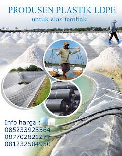 Jual Plastik Hitam LDPE Untuk Alas Tambak Garam