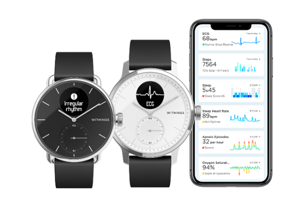 CES 2020: Withings launches ScanWatch, World's first hybrid smartwatch to combine Medical grade electrocardiogram and Sleep apnea detection