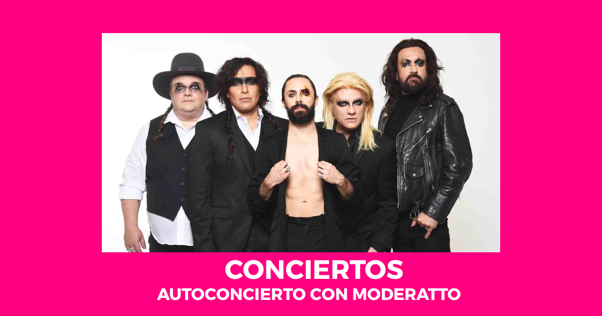 Moderatto, autoconciertos