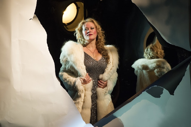 Ilona Domnich as Stella - Offenbach's The Tales of Hoffmann, English Touring Opera, 2015 © Richard Hubert Smith