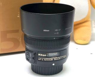 Jual AF-S Nikon 50mm f1.8