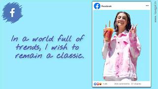 facebook caption for girls