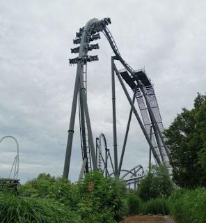 Swarm, montaña rusa de Thorpe Park.