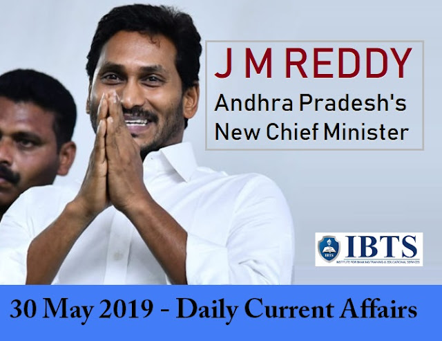 30 May 2019 - Daily Current Affairs