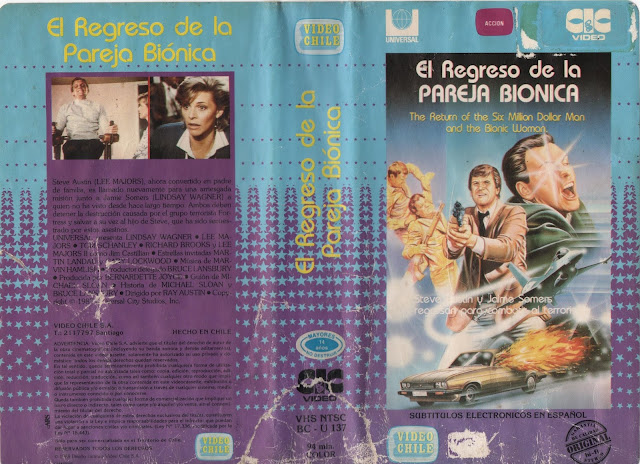 "Pelicula: ""El Regreso de la Pareja Bionica"" - 1987"