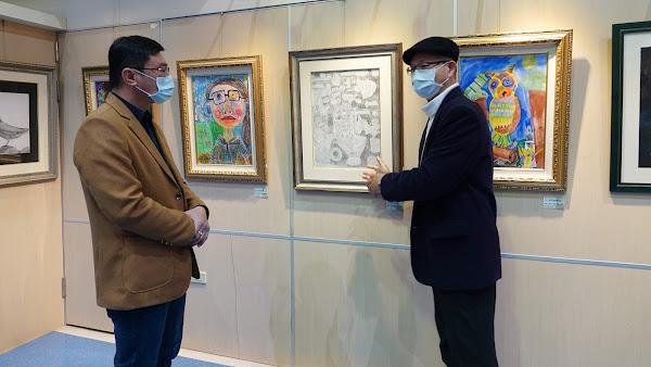鹿港鎮圖藝中心童畫展 快樂繪畫探索孩子心視界
