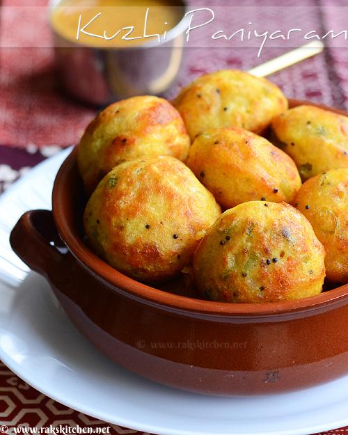 Kuzhi paniyaram recipe
