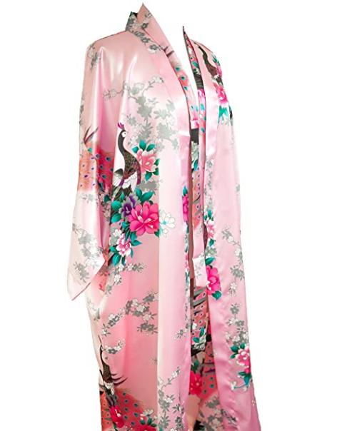 kimono peacock