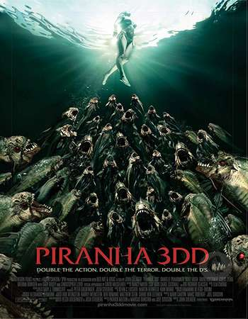 Piranha 3DD 2012 Hindi Dual Audio BRRip Full Movie Download