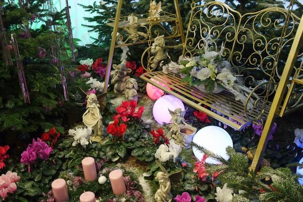 vienne blumengärten hirschstetten adventmarkt marché noël