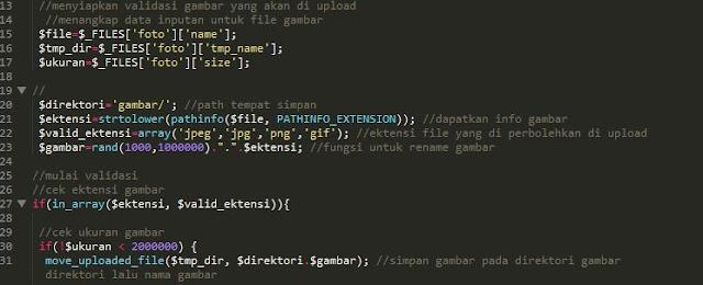 Membatasi Ukuran Gambar di PHP Supaya Tidak Boleh Lebih Dari 2MB