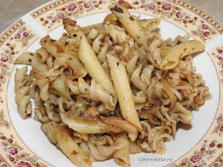 Paste cu legume si ciuperci de post reteta italiana traditionala retete culinare cu spaghete spirale melci penne retete si preparate culinare mancaruri de casa,