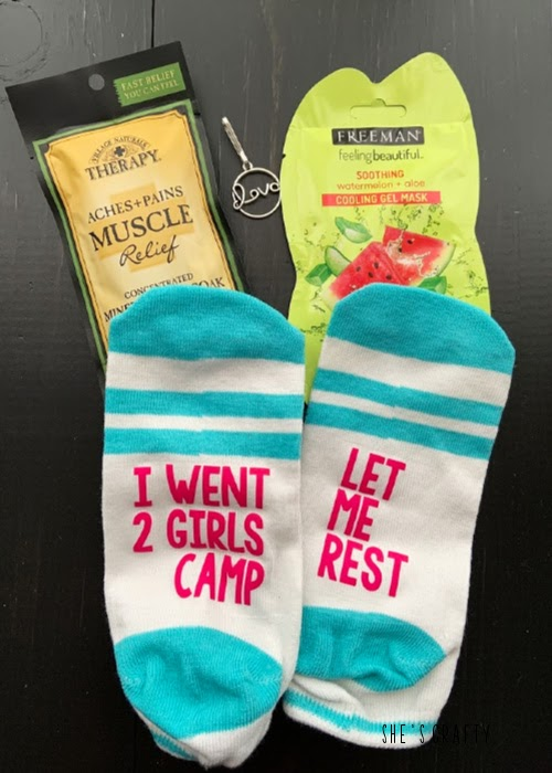 Girls Camp gift ideas for adult leaders, cabin moms and committee members - camp committee handout