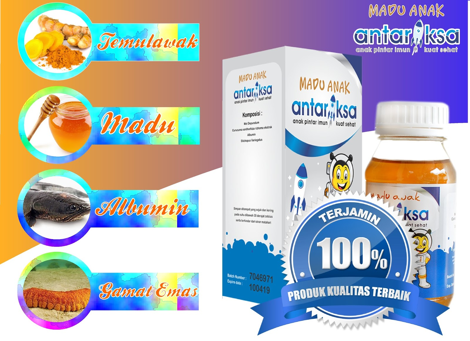 Vitamin Anak Madu Antariksa