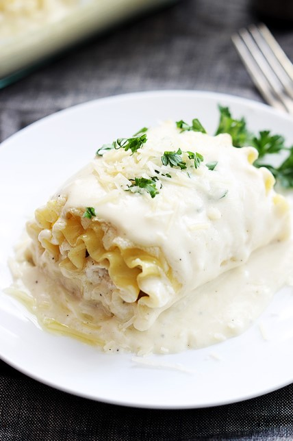 WHITE CHICKEN LASAGNA FOLLUPS