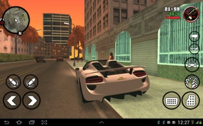 Download Grand Theft Auto San Andreas 1 08 Apk + Data + Mod