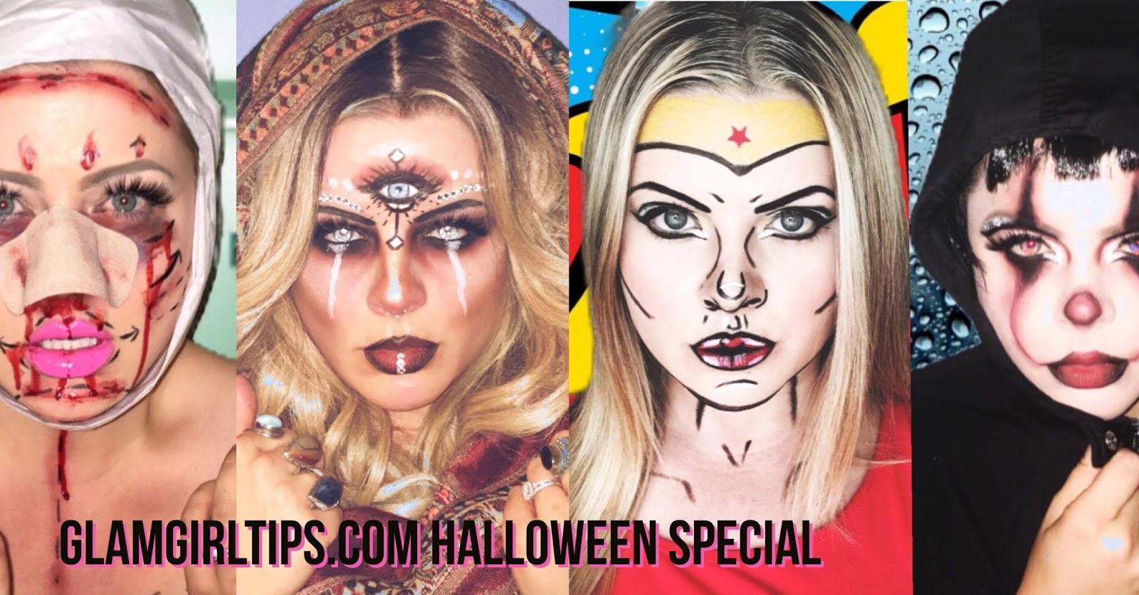 Halloween makeup inspirationtutorials 2017 baditri Image collections