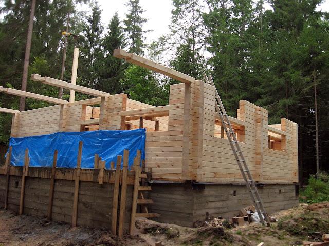 строим дом стены