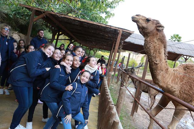 Damas infantiles visitan Terra Natura