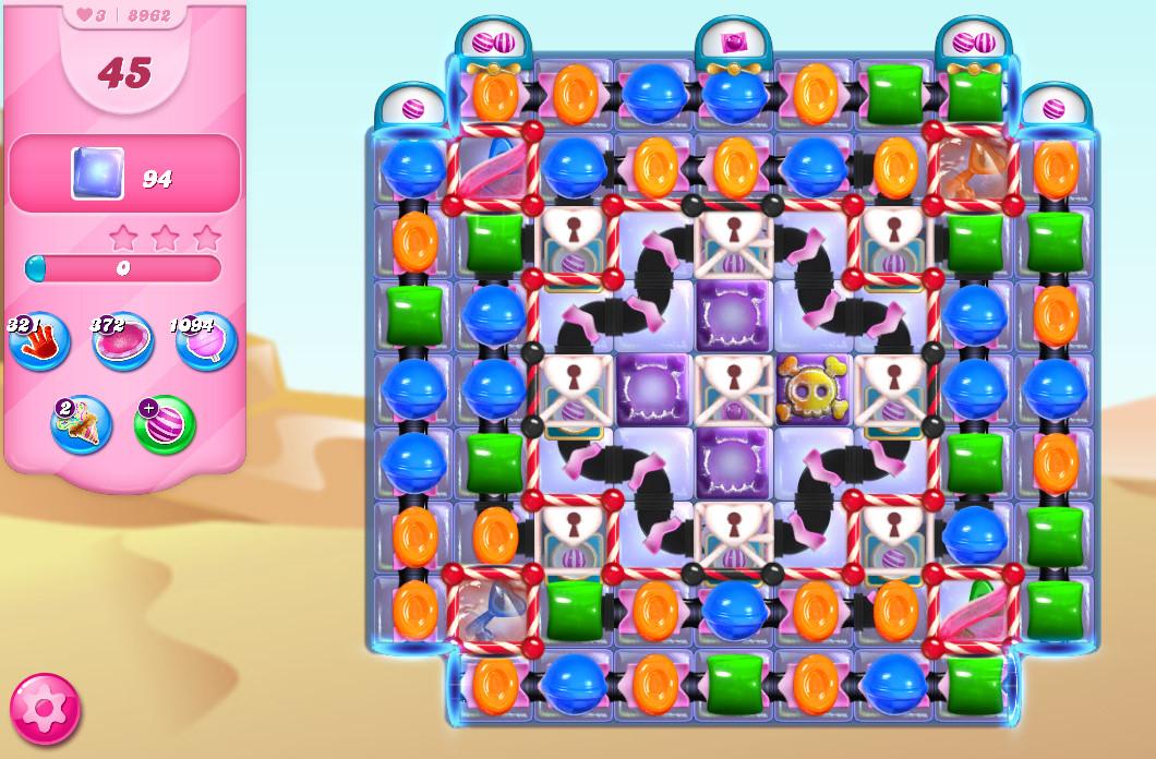 Candy Crush Saga level 8962